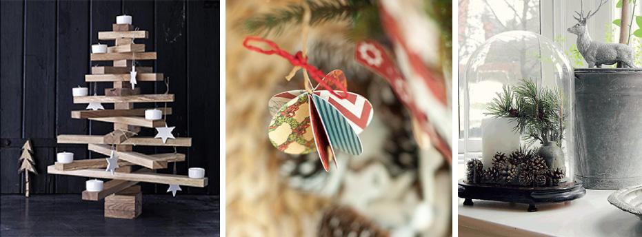 Decorações para um Natal Sustentável
